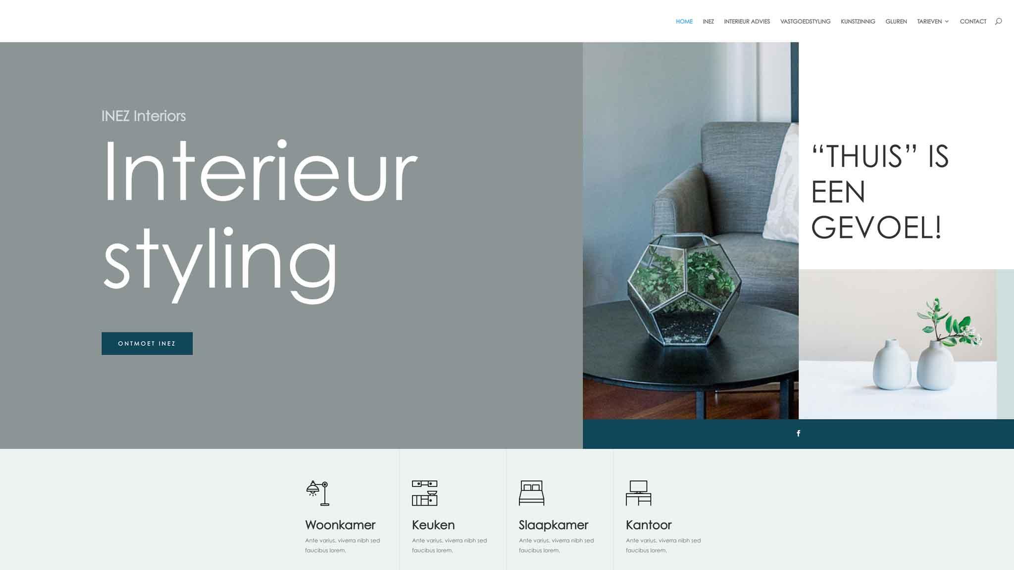 Website INEZ Interiors